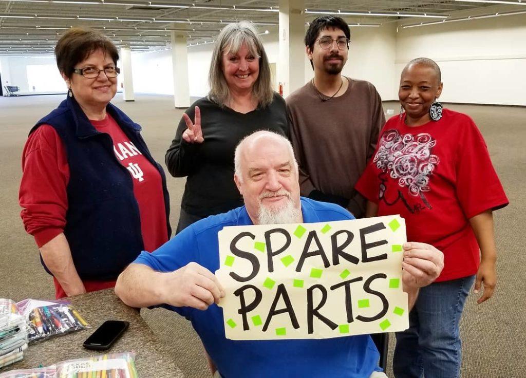 Volunteers at Big Give
